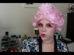 effie trinket makeup tutorial the hunger games catching fire you