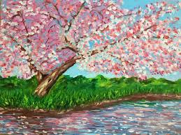 saatchi art artist bill neary painting old cherry tree art