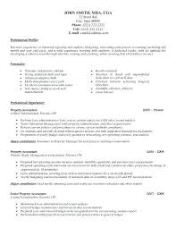 Best Accountant Resume Sample – Resume Bank