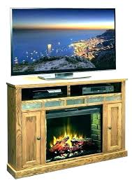 corner electric fireplace stand white media tv