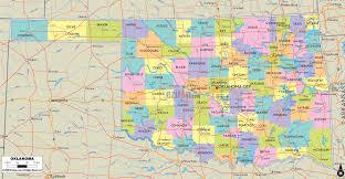 map of oklahoma state usa and usa with  lapiccolaitaliainfo