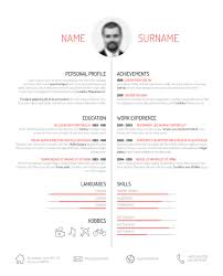 Creative Resume Template Design Vectors 01 Free Download