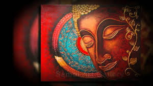 Buddhist Home Decor Buddha Paintings For Gorgeous Home Decor Youtube