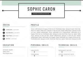 creative looking resumes