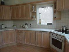 limed oak kitchen units: units limed oak solid wood with light