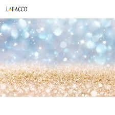 <b>Laeacco Glitter</b> Shiny Gold Polka Dots <b>Light Bokeh</b> Child Birthday ...