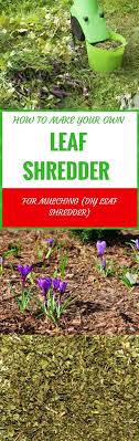 leaves shredder pin it
