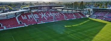 The official facebook page of wrexham football club. Glyndŵr University Racecourse Stadium Wrexham Glyndwr University