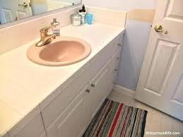 bathroom countertop replacement