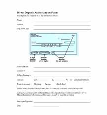 Form Template – Background Free Deposit Authorization Elisabethnewton com Check Direct