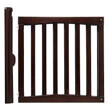 amazoncom  safety st wooden swing gate espresso  indoor