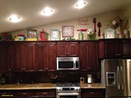 decorating ideas for on top of kitchen cabinets best of unique top kitchen cabinet decor of