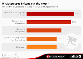 Stress Chart Chart What Stresses Britons Out The Most Statista