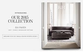restoration hardware small spaces. Modren Restoration Introducing Our 2015 Interiors Source Book With Restoration Hardware Small Spaces R