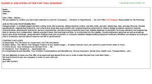 Ux Designer Offer Letters | Offer Letters Templates ...