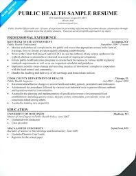 Public Health Resume Template Best of Public Health Resume Examples Fastlunchrockco
