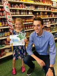James & the Giant Peach Coloring Contest Winner! | Walter Stewart's Market