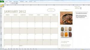 Excel Calendar Template 2013 Excel Calendar Template For 2012