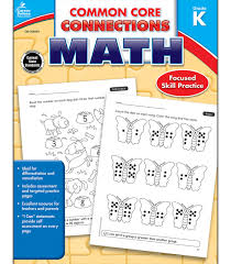 Common Core Connections Math Workbook Grade K Paperback