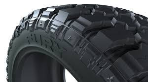 Off Road Tire Chart M T Series Furyoffroadtire