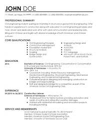 Resume Templates Intern Sample For Stunning Internship In Accounting