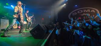 The huge concert venues attracts bands from all the world to come and play to the big crowds. Live Nation To Take Over Exclusive Booking For San Diego S Soma Music Venue Live Nation Entertainment