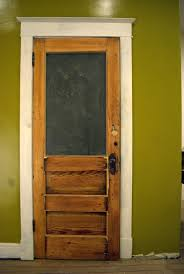 there she is the shot of the old exterior door it may not look like a lot of work but it was a lot of work below are some shots of the
