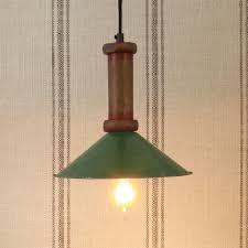 piper wood spool pendant lamp