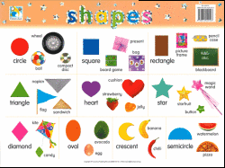 Shapes Chart Images Shapes Mini Wall Chart
