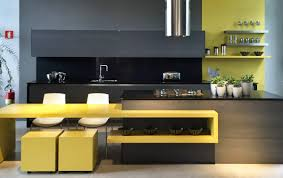 Yellow Kitchen Floor 22 Yellow Accent Kitchens That Really Shine