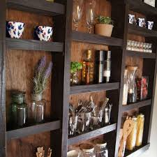 painting shelves ideasbuilt in kitchen wall shelves closet diy kitchen design