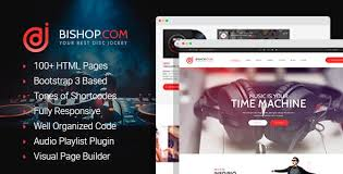 Music Website Templates Interesting HTML Club Website Templates From ThemeForest