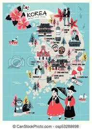 Animated Travel Map Korea Travel Map