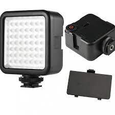 Đèn 49 LED Trợ Sáng Chụp Ảnh, Quay Phim Cho Máy Ảnh, Điện Thoại - Đèn Flash  Selfie - Flash Mini Thương hiệu OEM