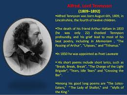 ulysses by alfred tennyson alfred lord tennyson
