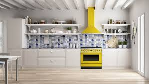 smeg presents its new range of portofino cookers inspired by the colours of the famous ligurian town to bring some lively and romantic colours to the heart