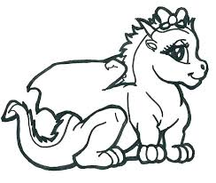 Baby Dragon Coloring Pictures Free Printable Baby Dragon Coloring