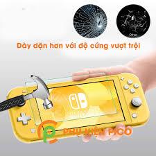 Cường lực Nintendo Switch Lite chính hãng Gor - Dán màn hình máy chơi game  Nintendo Switch Lite trong suốt độ cứng 9H - 1569747972768