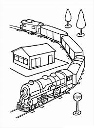 Here's a colouring page of a toy wagon to print. Free Printable Train Coloring Pages For Kids