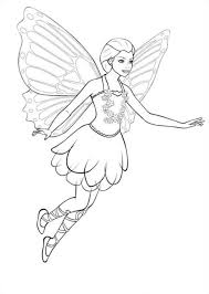 Disegni Da Colorare Disegni Da Colorare Barbie Mariposa Stampabile
