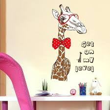 Giraffe Decor For Bedroom Fashion Giraffe Large Wall Stickers Animal Decals  Home Decor Bedroom Mural Wallpaper Removable Giraffe Room Decor Ideas