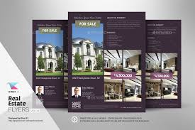 real estate flyer templates real estate flyer templates vol 03 by kinzishots graphicriver