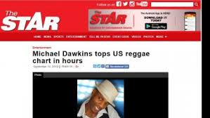 Lovers Rock Reggae Artist Michael Dawkins Single Is Topping