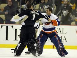 Brent Johnson vs. Rick DiPietro. Goalie fight are the best | Pittsburgh  penguins goalies, Pittsburgh penguins funny, Pittsburgh penguins