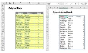 excel functions focus on 2 new excel functions unique and filter fm