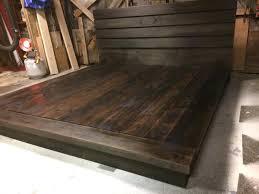 Hardwood Platform Bed, King size wood bed Ruby Collection