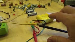 charging larger nicad with aa battery using joule thief