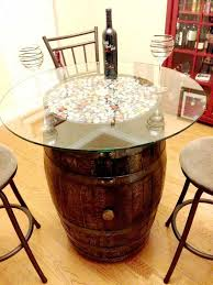 diy ways to re use wine barrels 1
