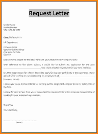Letter Format For Getting Dealership Request 2018 Request Letter