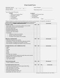 Patient Chart Review Example 18 Valid Medical Chart Audit Form